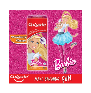 Colgate Barbie Cavity Protection KID Toothpaste 80 g 3