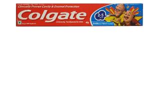 Colgate Kids Toothpaste Bubble Fruit flavour