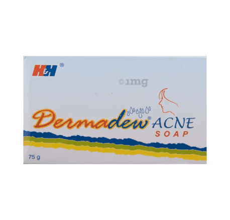 Dermadew Acne Soap 75g 2