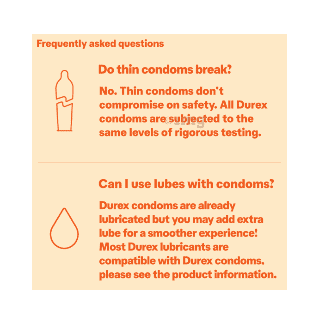 Durex Extra Dots Condom 3s 9
