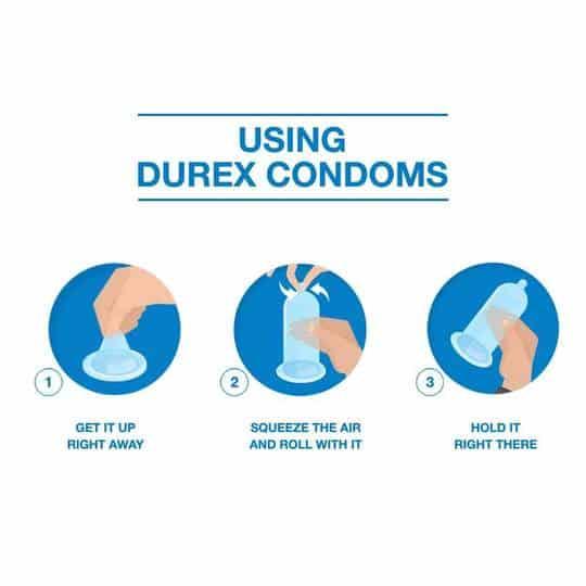 Durex Kohinoor Condom Juicy Strawberry 10 pcs Pack 7