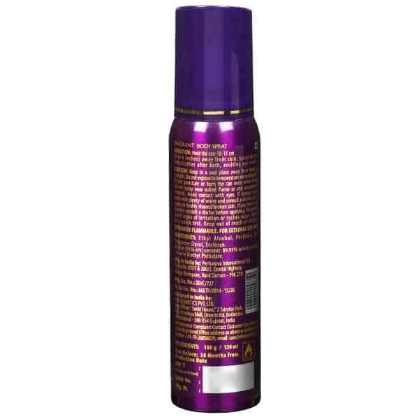 Fogg Paradise Women Body Spray 120 ml 2