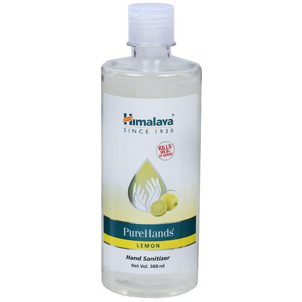 Himalaya Pure Hands Lemon Hand Sanitizer 500 ml
